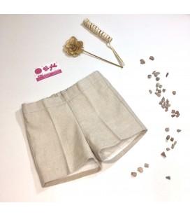 Pantalón imitación lino