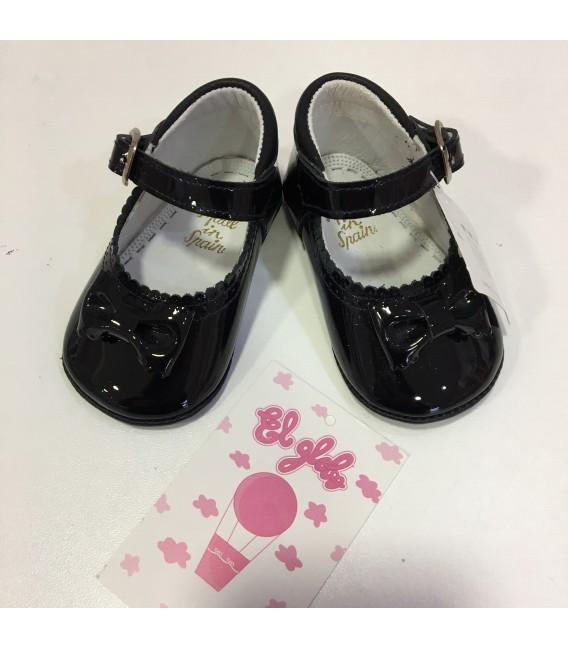 Zapato de charol azul marino niña  MF 108