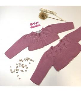 Chaqueta rosa antiguo